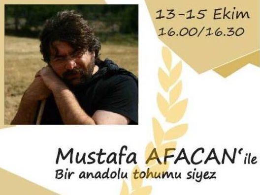 Mustafa Afacan ile Anadolu Siyez Buğdayı Tohumu