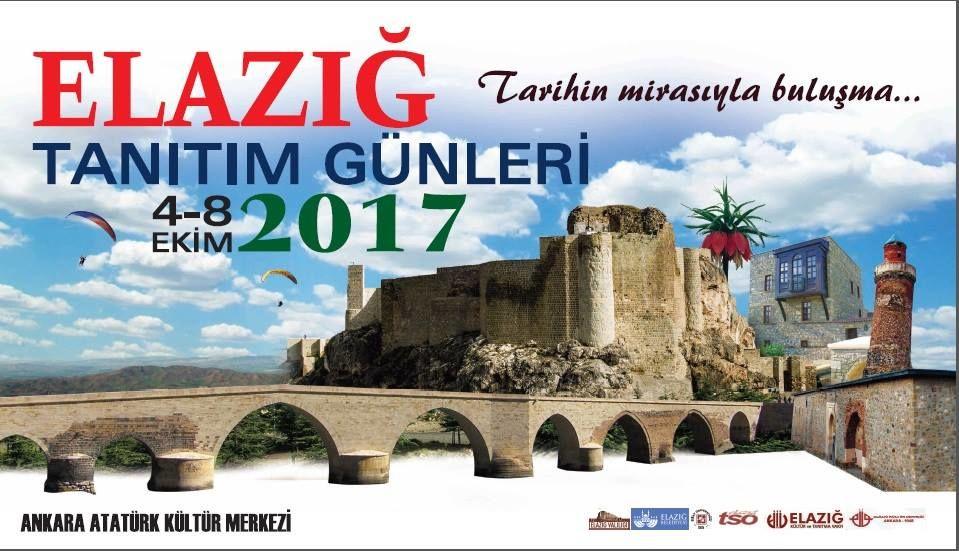 Ankara Akm'de 2.Elazığ Tanıtım Günleri 2017