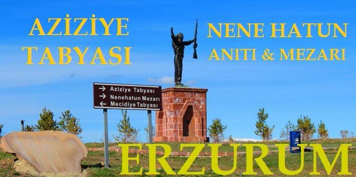 Erzurum Aziziye Tabyası / Nene Hatun Anıtı