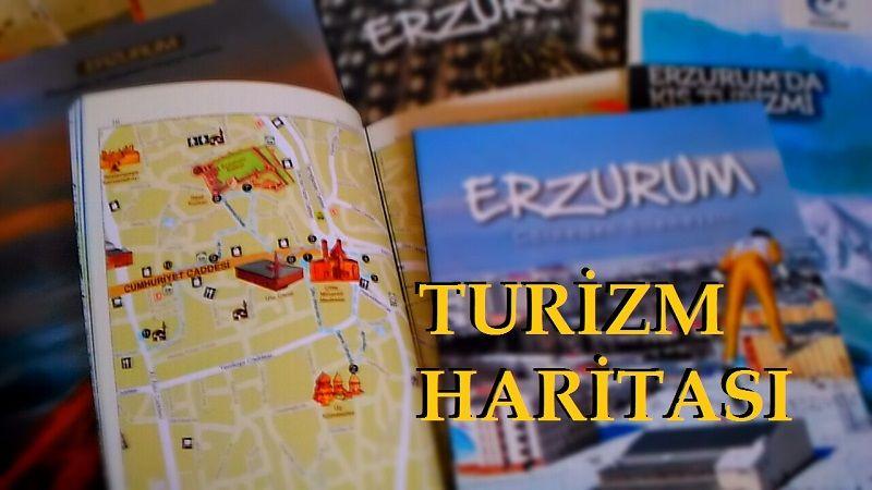 Erzurum Turizm Gezi Rehberi Haritası
