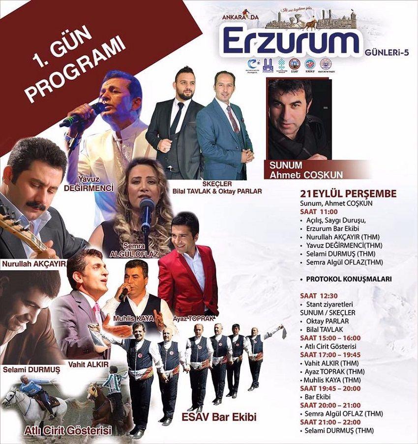 Ankara Akm Erzurum Günleri 1.Gün