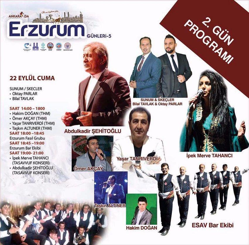 Ankara Akm Erzurum Günleri 2.Gün