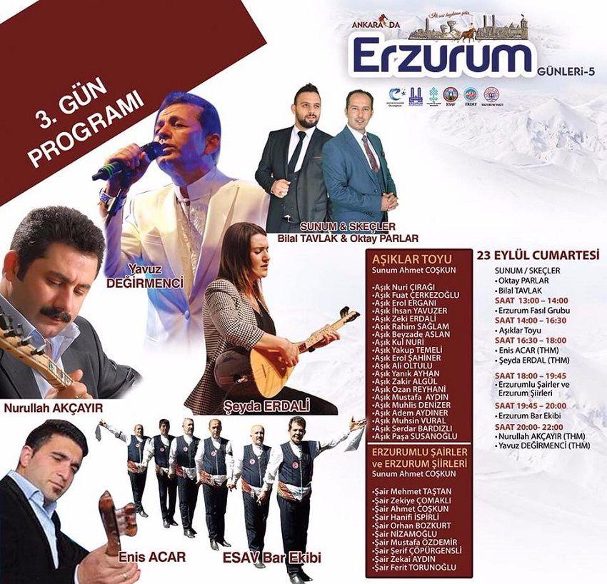 Ankara Akm Erzurum Günleri 3.Gün