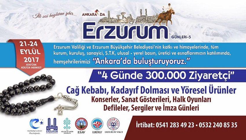 5.Erzurum Günleri Organizasyon