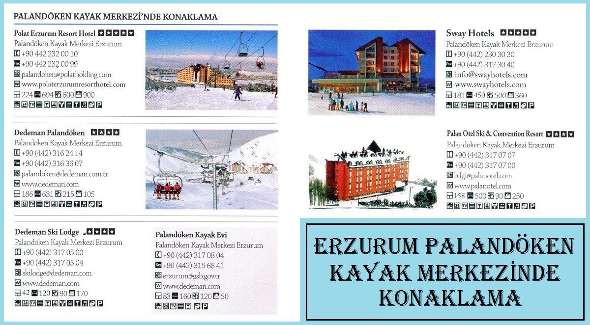 Erzurum Palandöken Kayak Merkezinde Konaklama