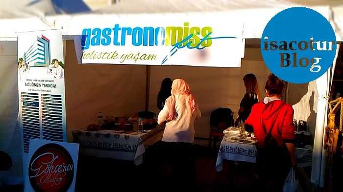 Gastronomiss Holistik Yaşam Uluslararası Ekmek Festivalinde