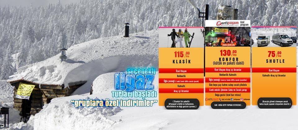 Ankara Çıkışlı GünübirlikIlgaz Turları (Olgassys Butik Otel Ilgaz)