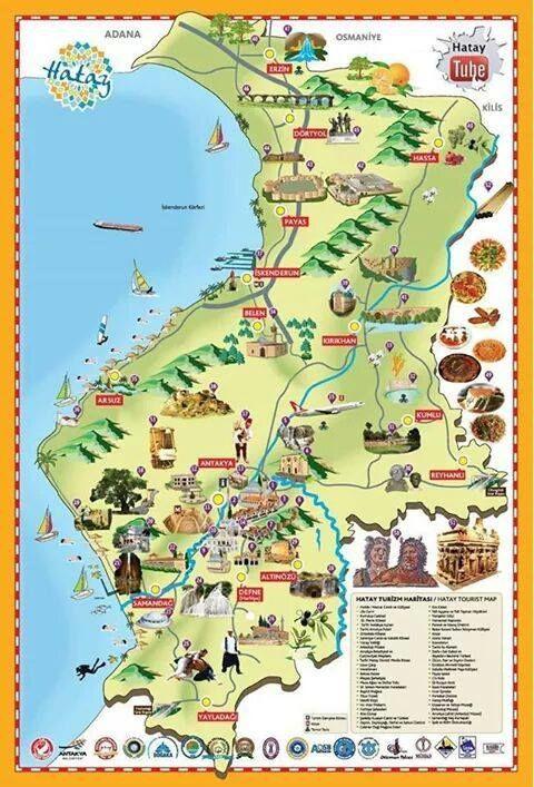 Hayat Turizm Haritası