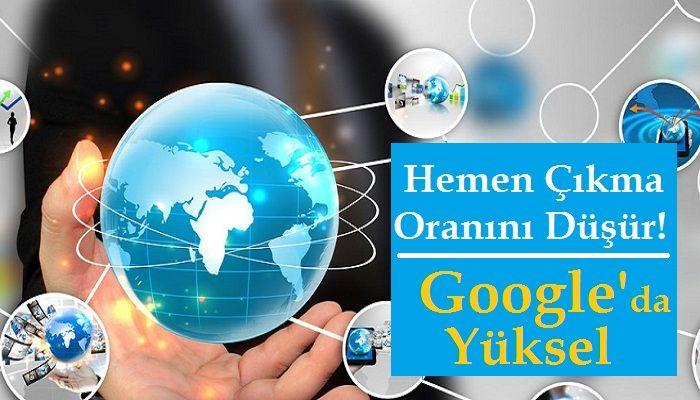 Google Hemen Çıkma Oranını Düşürme