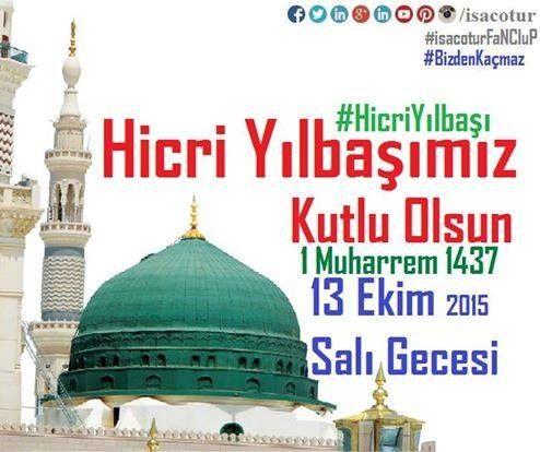 Hicri Yılbaşı Kutlu Olsun 2015