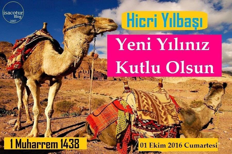 Hicri Yılbaşı Kutlu Olsun 2016 Kartpostalı