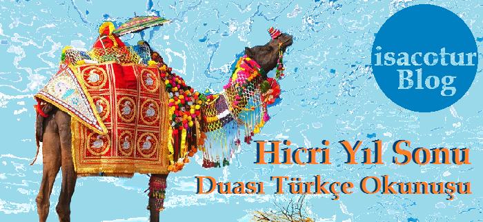 Hicri Yıl Sene Sonu Duası Türkçe Okunuşu