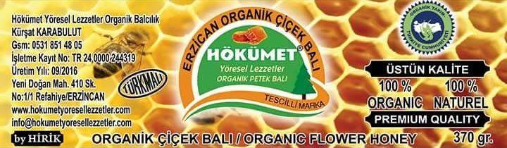Hökümet Arıcılık Organik Çiçek Balı