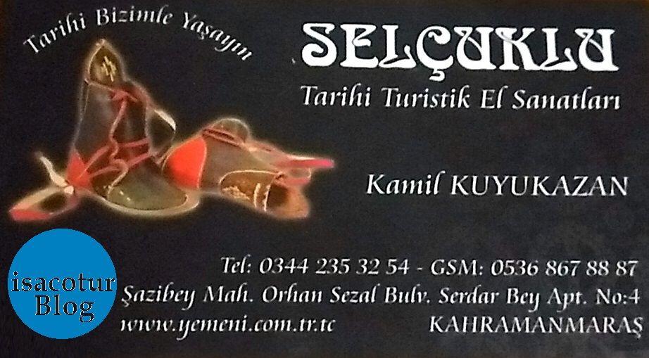 Maraş Yemenisi (Çarık) Çubuk Turşu Festivalinde Kamil Kuyukazan