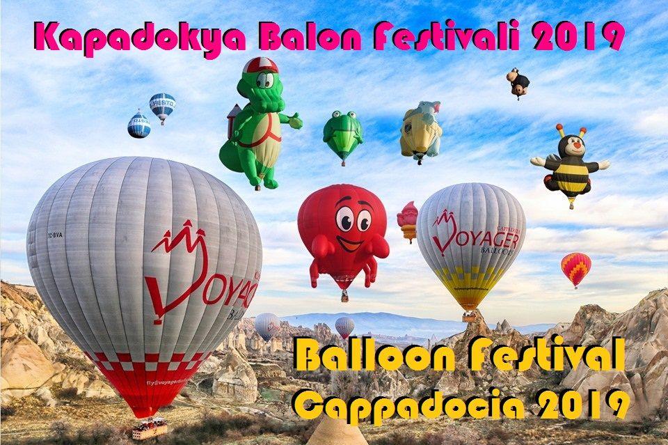 Kapadokya Balon Festivali 2019 ❤ Balloon Festival Cappadocia 2019