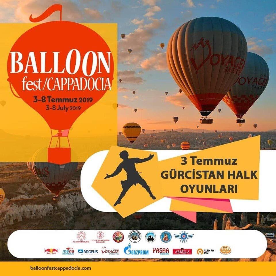 Kapadokya Balon Festivali 2019 Etkinlik Proğramı Gürcistan Halk Oyunları
