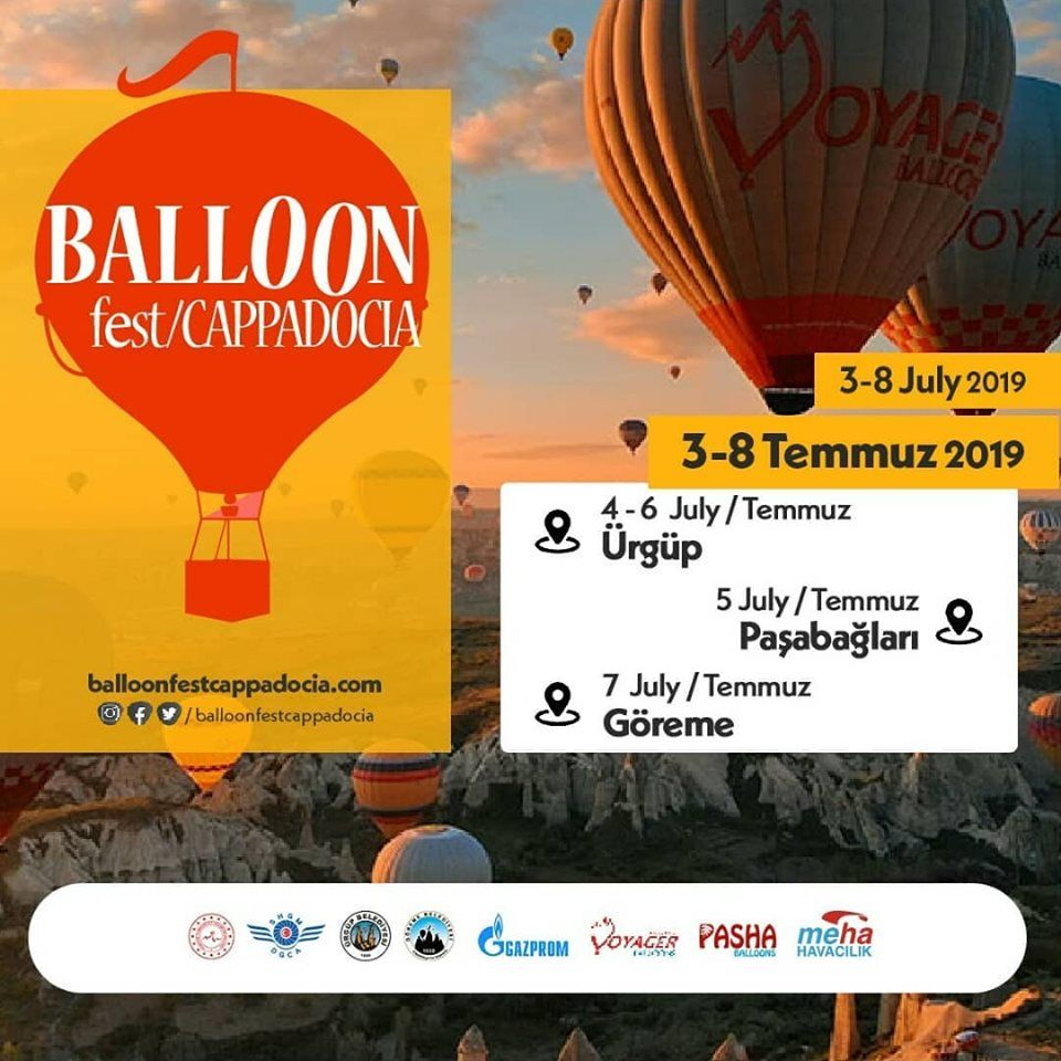 2019 Kapadokya Balon Festivali