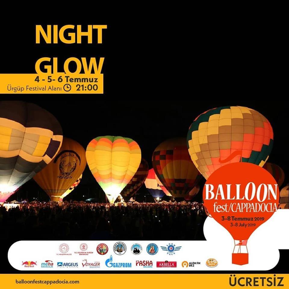 5 TEMMUZ 2019Kapadokya Balon Festivali