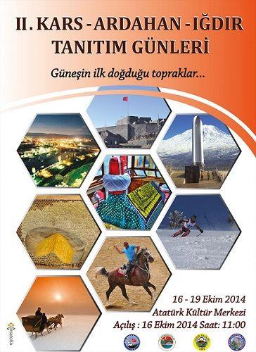 Kars Arhadan Iğdır Tanıtım Günlerini 2014