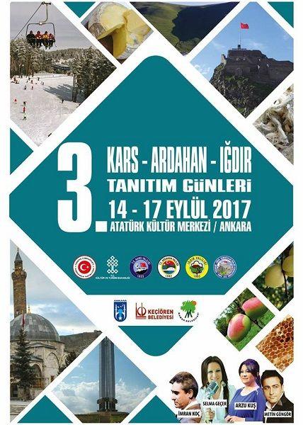 Kars Arhadan Iğdır Tanıtım Günleri 2017
