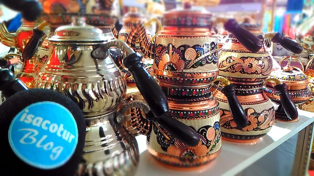 Kastamonu Günleri 2019 Fotoğrafları, gümüş çaydanlık