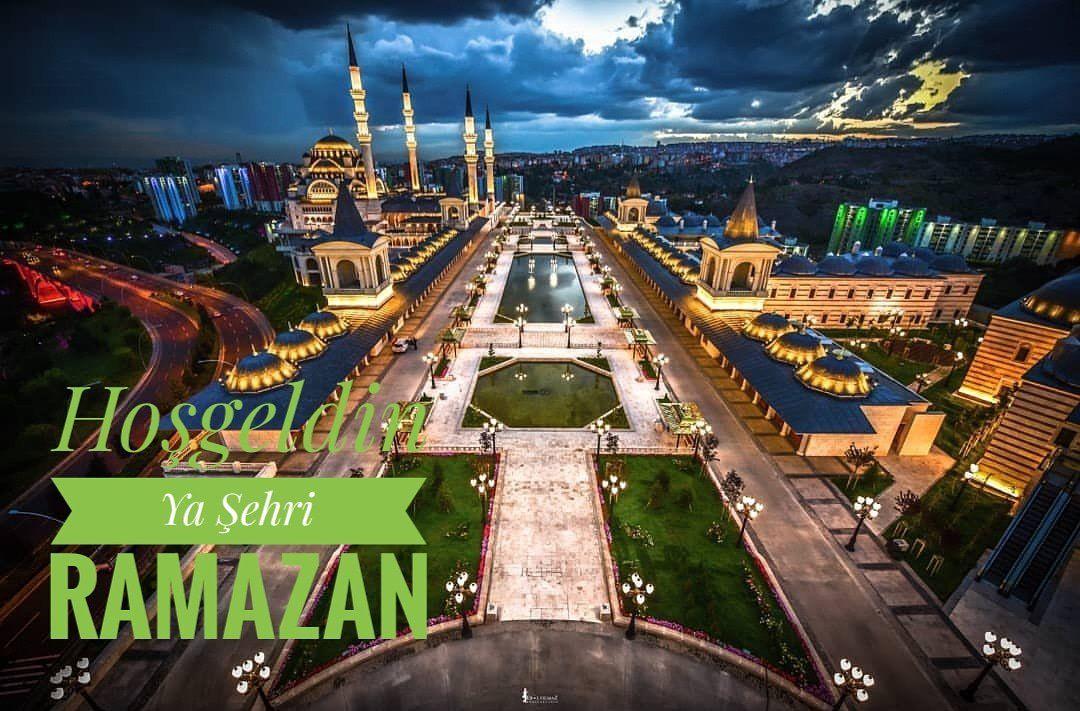 Kuzey Ankara Camii ve Külliyesi Ya Şehri Ramazan