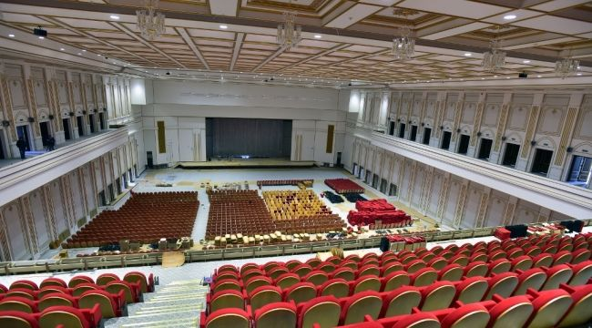 Türkiye'nin En Büyük Kongre Merkezi Kuzey Ankara Külliyesinde