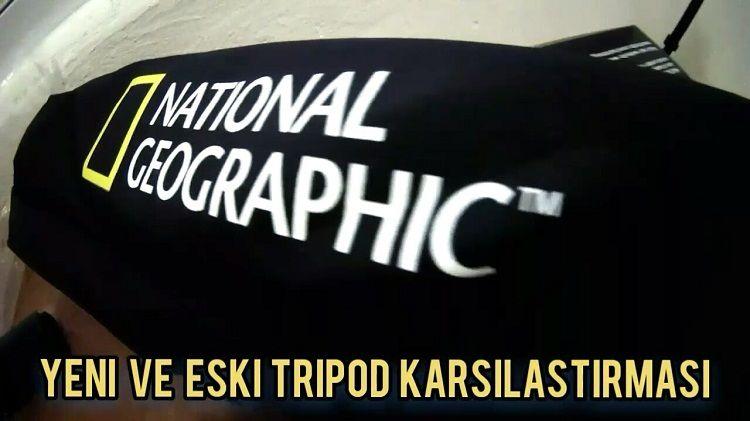 Manfrotto National Geographic Tripod Fotoğrafları