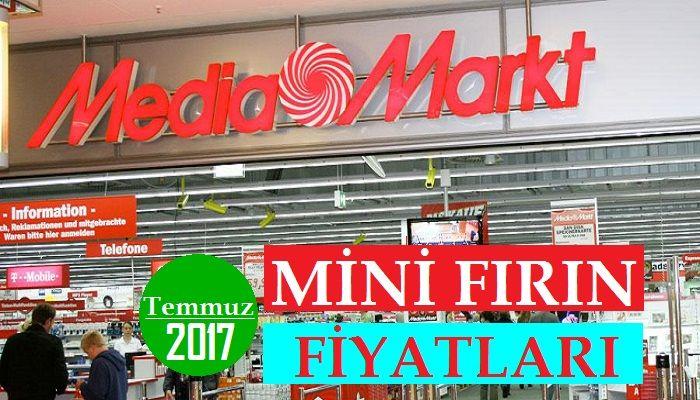 Media Markt Mini Fırın Fiyatları 2017