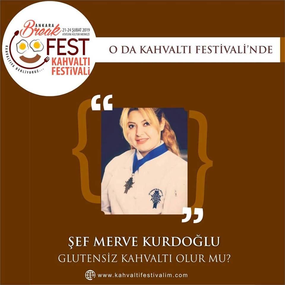 Ankara Kahvaltı Festivali Etkinlik Takvimi Şef Merve Kurdoğlu