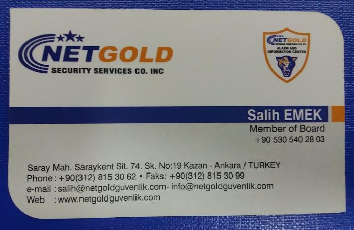NetGold Güvenlik Salih Emek İletişim
