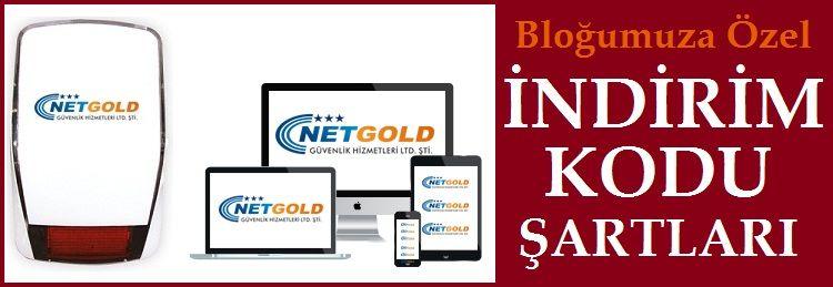 NetGold Güvenlik Alarm İzleme İndirim Kodu Şartları