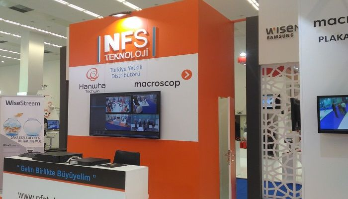 NFS Teknoloji Hanwha Techwin