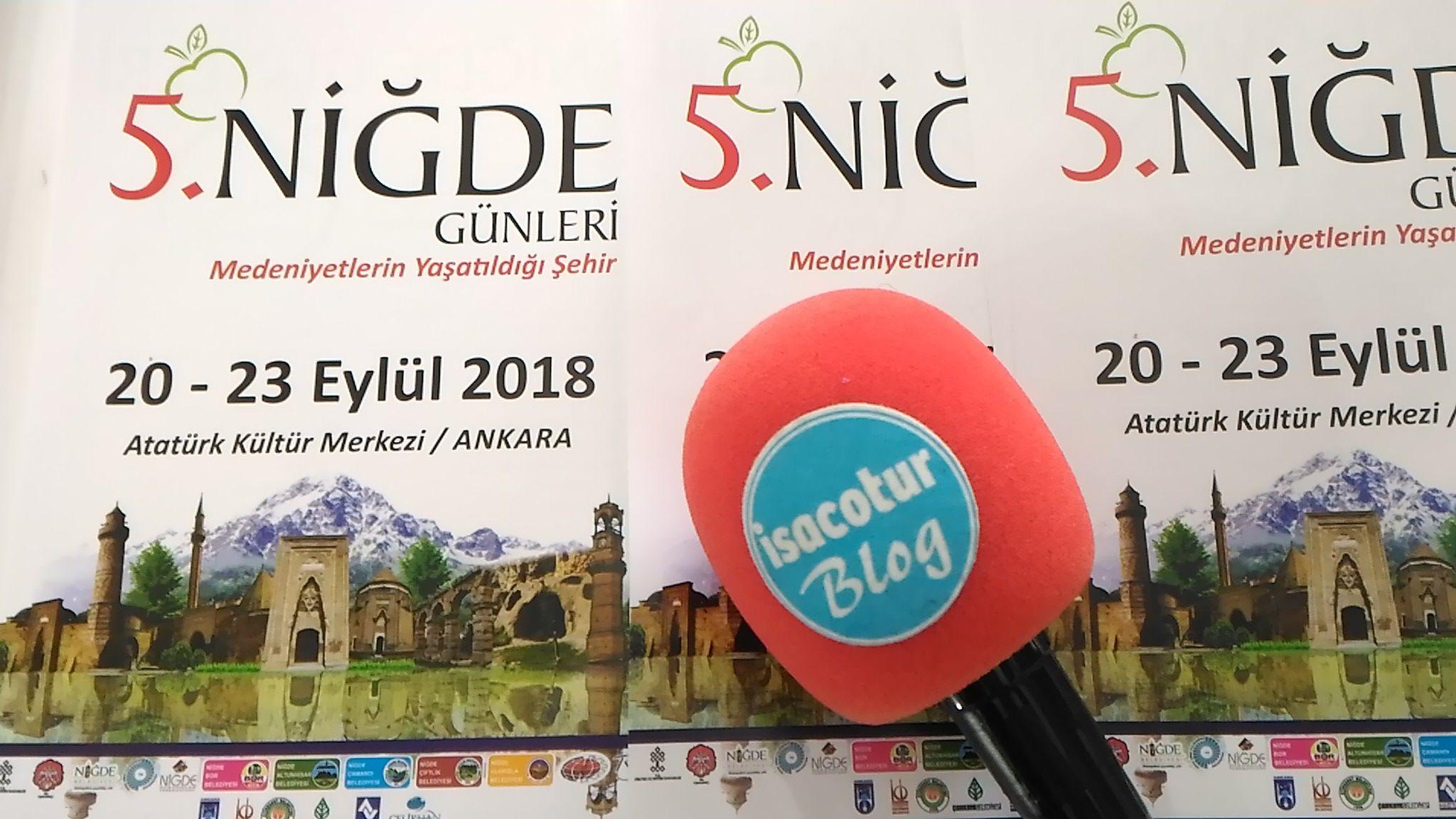 Niğde Tanıtım Günleri Ankara 2018