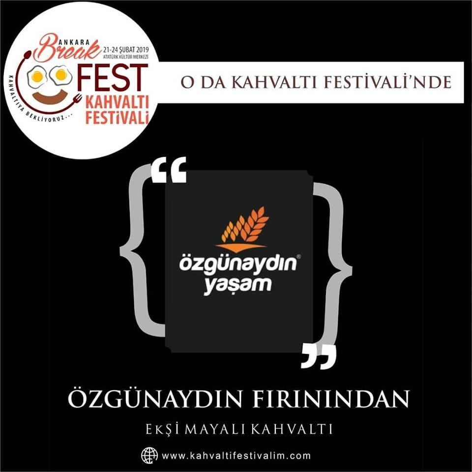Muharrem Arıcı ile Ekşi Maya KahvaltıAnkara Kahvaltı Festivali Etkinlik Takvimi 22 Şubat 2019