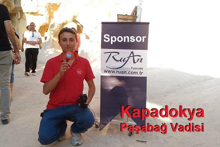 Kapadokya Paşabağları Vadisi (Rahipler Vadisi) Peri Bacaları, Ruan Fuarcılık