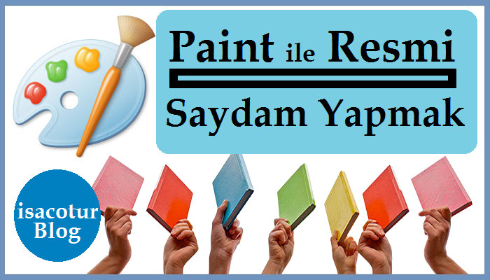 Paint ile Resimi Saydam Yapmak