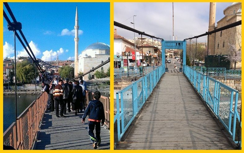 Avanos Sallanan Asma Köprü