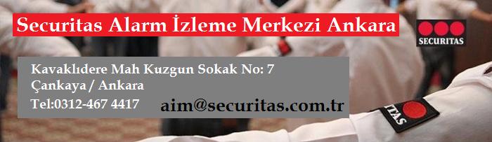 Securitas Alarm İzleme Merkezi Ankara Adresi