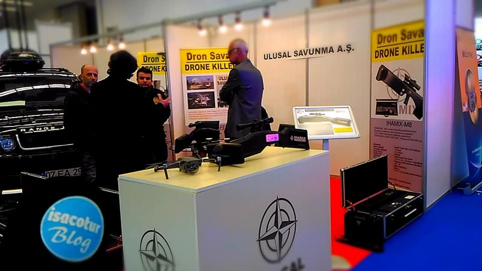 SecuriTex Eurasia 2019 Ankara İHAMAX DRONE SAVAR