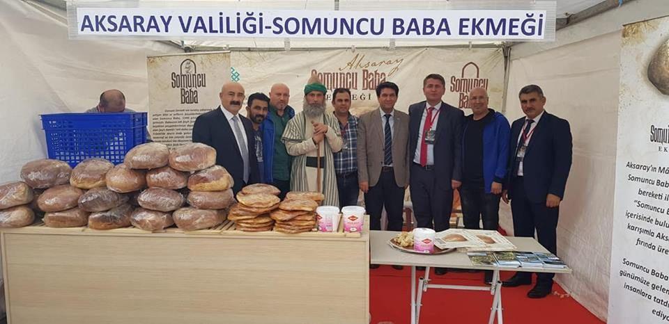 Aksaray Valiliği Somuncu Baba Ekmeği 2.Ekmek Festivalinde