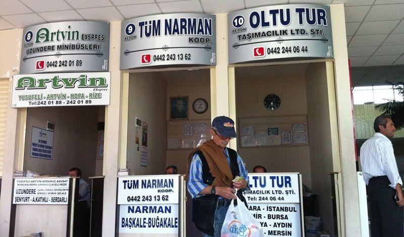 Şükrü Paşa Doğu Semt Garajı Erzurum