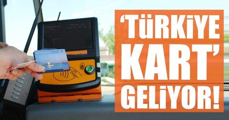 Toplu Taşımada Türkiye Kart Dönemi