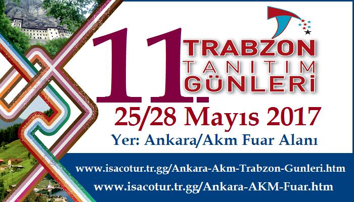 Başkent Ankara'da Trabzon Günleri 2017