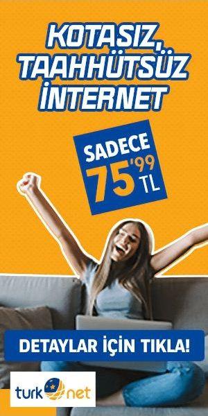 TürkNet Arkadaşını Getir Davet Kodu reklam baneri 300x600