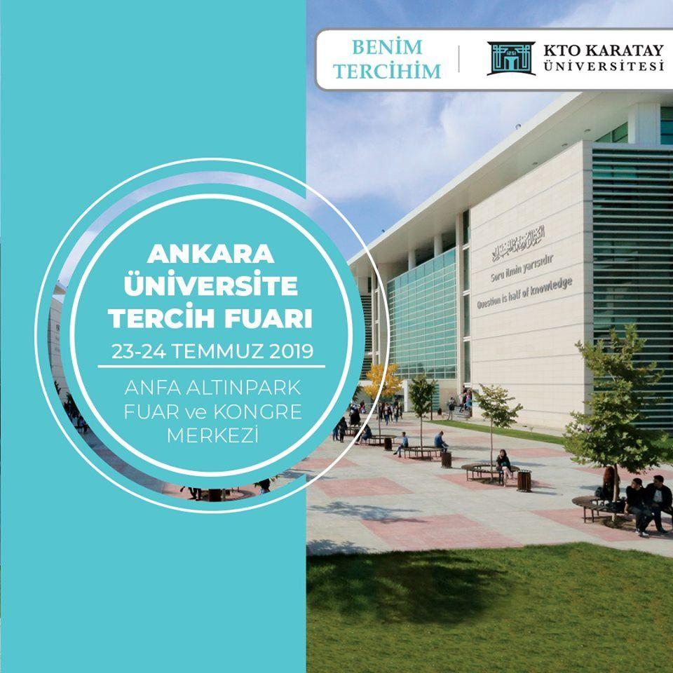Üniversite Tercih Fuarı 2019 Ankara ÜNİVERSİTESİ
