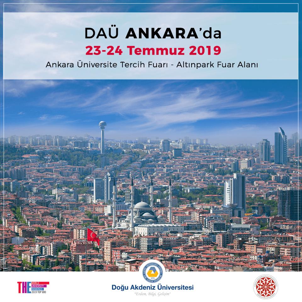 Üniversite Tercih Fuarı 2019 Ankara DOĞU AKDENİZ ÜNİVERSİTESİ
