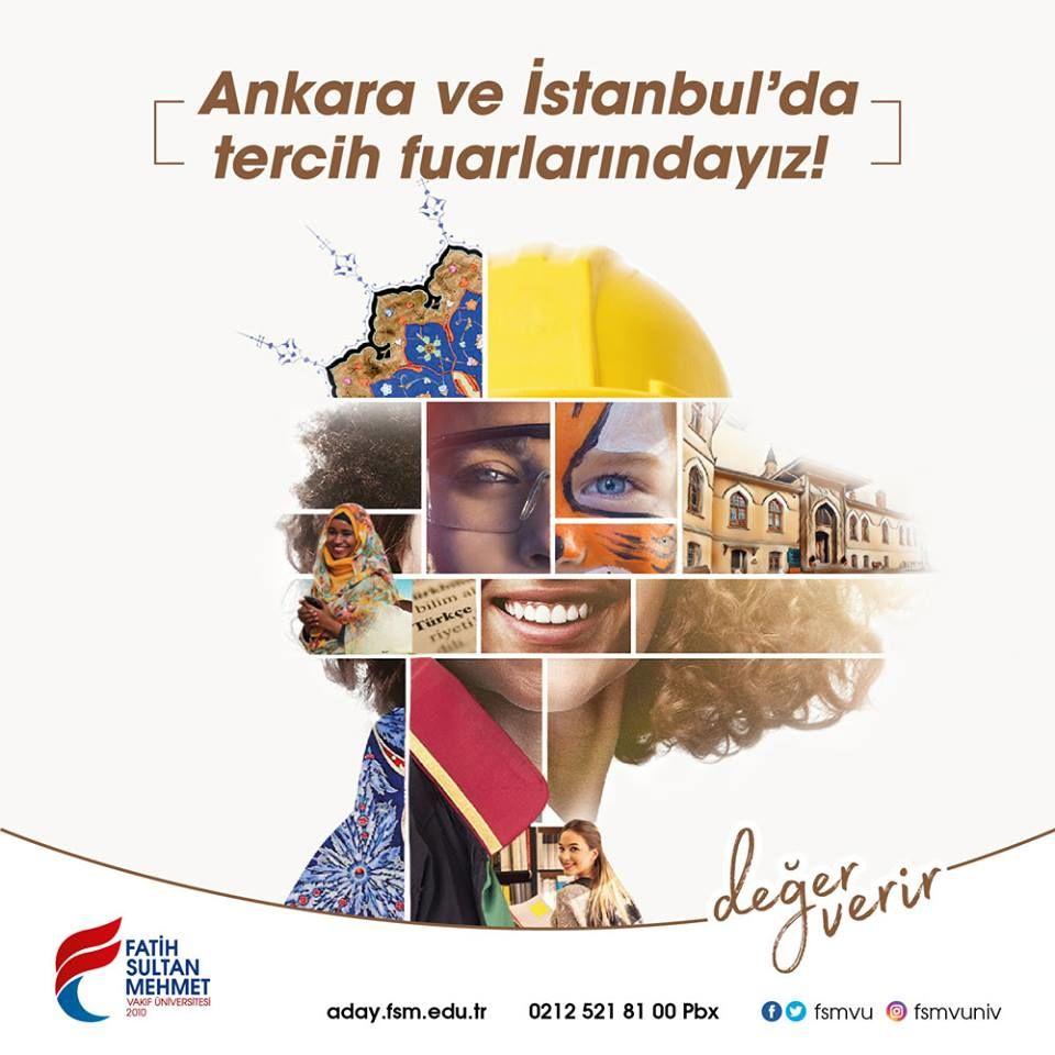 Üniversite Tercih Fuarı 2019 Ankara FATİH SULTAN MEHMET ÜNİVERSİTESİ