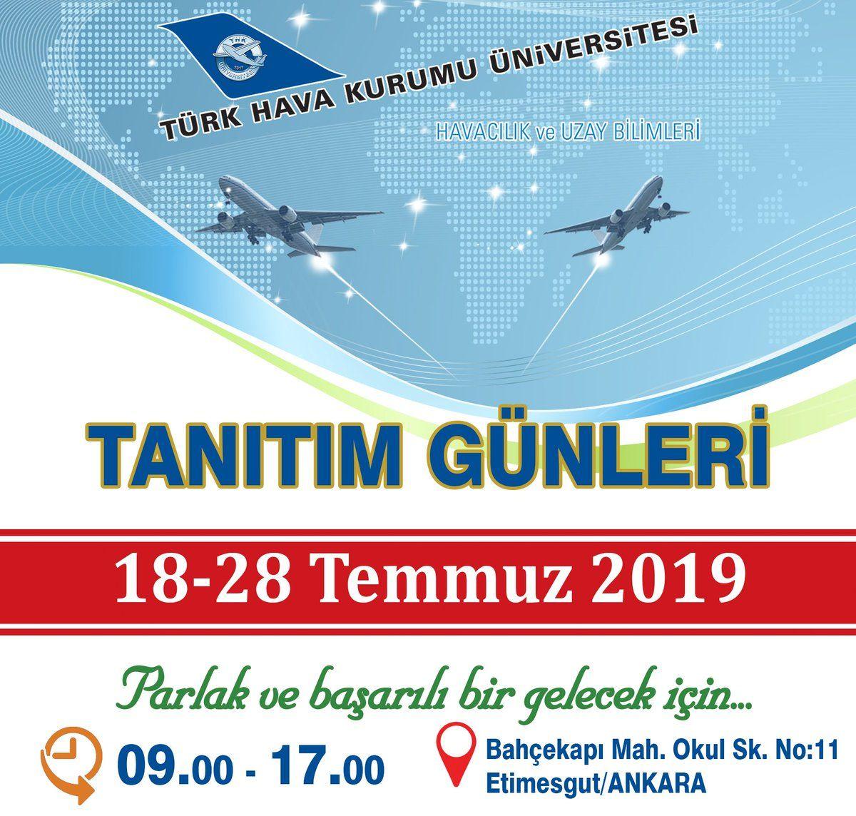 Üniversite Tercih Fuarı 2019 Ankara TÜRK HAVA KURUMU ÜNİVERSİTESİ