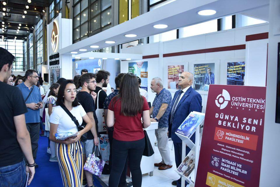 Üniversite Tercih Fuarı 2019 Ankara OSTİM TEKNİK ÜNİVERSİTESİ